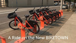 A Ride on the New BIKETOWN
