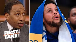 'We learned how human Steph Curry could look' against the Clippers – Stephen A. | First Take