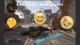 Call Of Duty: WW2 Multiplayer- Open Beta