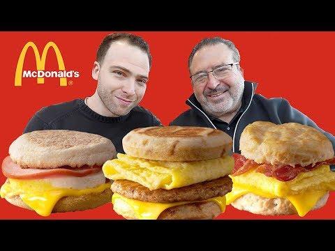 ENTIRE McDonald's BREAKFAST MENU – American Fast Food Review | Orlando, Florida