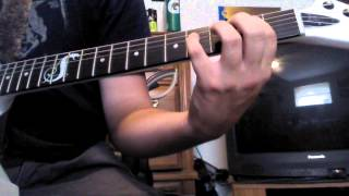 How to play Medusa by anthrax on guitar (WITH TABS!!!!!!)