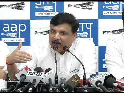 """Rajya Sabha Member Sanjay Singh says """" We Want IAS Officers to call off there Strike"""""""