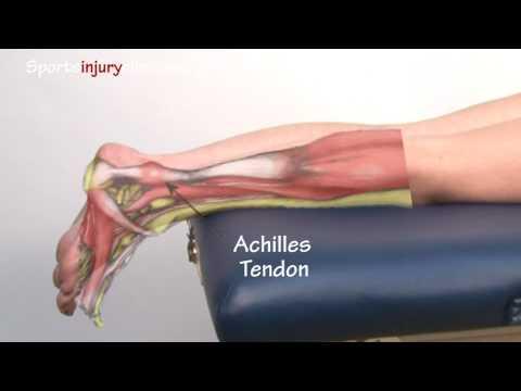 A láb alsó lábának ízületi kezelése