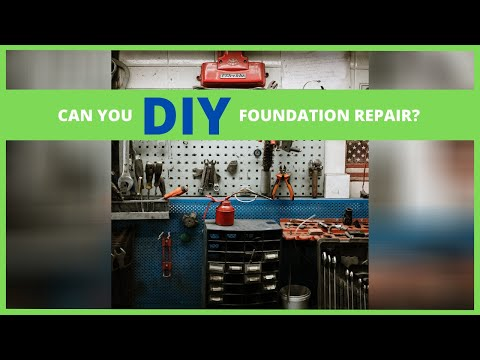 🐊Can you DIY your Foundation Repair project?