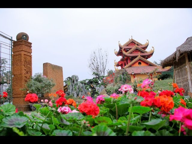 Số 02 Chuân bị lễ hội hoa xuân Mậu Tuất 2018 chùa Khai Nguyên