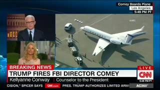 Conway: Comey was fired over 2017 job performance, not 2016 campaign