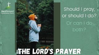 We pray for God's will to be done. Maybe we should then do it. Matthew 6:10