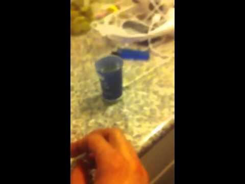 La codificazione da medicina di alcolismo in una vena