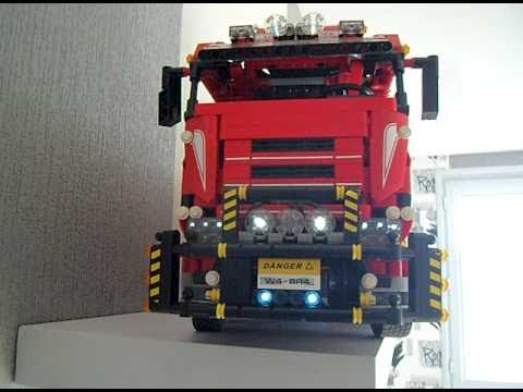 lego technic camion 8258 remorque bienvenue. Black Bedroom Furniture Sets. Home Design Ideas