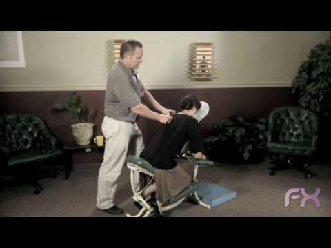chair massage training video, chair massage demo - YouTube