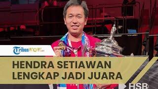Pengakuan Kapten Tim Hendra Setiawan setelah Juarai Thomas Cup: Kami Menunggu 19 Tahun