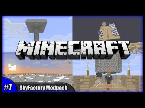 Minecraft Walkthrough - Crucibles & Goodie Bags! || SkyFactory