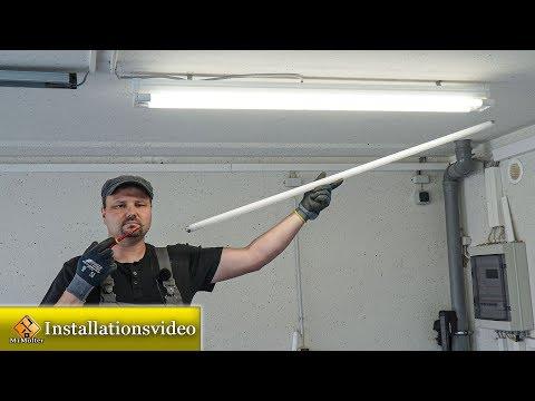 Umrüstung T8 Leuchtstofflampe auf LED-Tube