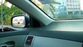 การปรับกระจกมองข้างและหลังเตรียมความพร้อมก่อนขับรถ