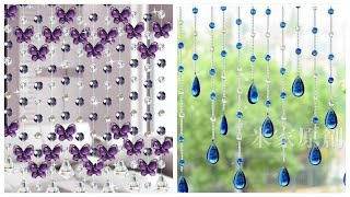 Latest Fancy Curtains | Beaded Curtain Desighns For Sapration Of Appartmnt In 2020