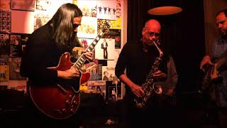 Krosswindz live jazz in Amsterdam with Jan Kooper  - tukiguitarman