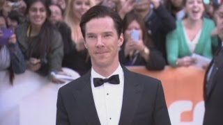 Benedict Cumberbatch debuts new film The Fifth Estate in Toronto