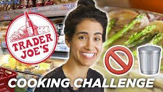 Home Chef Tries The No Trash Trader Joe's Challenge