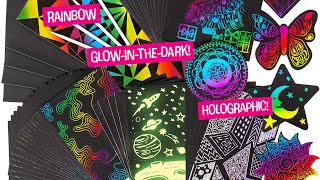 Make Colorful Creations with Scratch Art