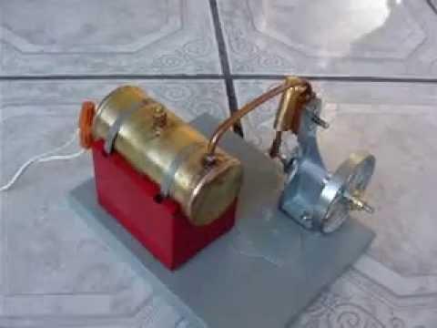 Como hacer una maqueta de locomotora de vapor?