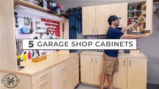5 Garage Shop Cabinets For Ultimate DIY Storage