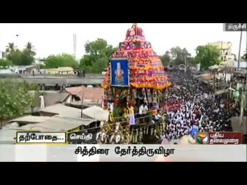 Samayapuram-Mariamman-Temple--Procession-of-the-Car