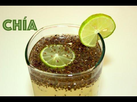 Agua de limon con semillas de chia - La receta de la abuelita