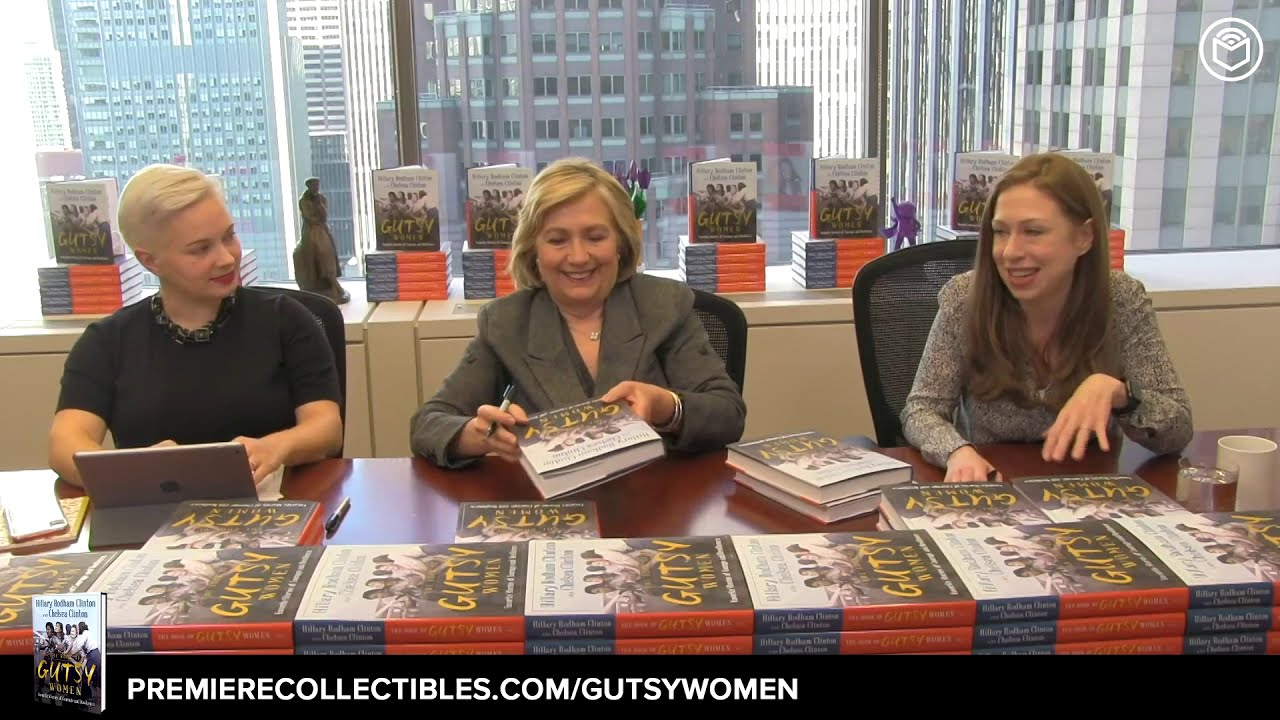The Book of Gutsy Women: Favorite Stories of Courage and Resilience by Hillary Rodham Clinton, Chelsea Clinton