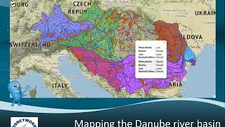 Mapping the Danube river basin