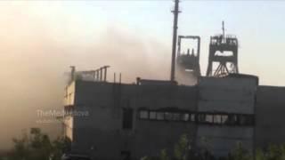 Видео безуспешной танковой атаки боевиков на позиции ВСУ