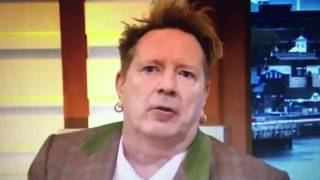 Johnny Rotten supports both Brexit & Trump in latest ITV interview
