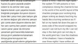 Şanışer Gel şarkısını çeviriye Söyletmek