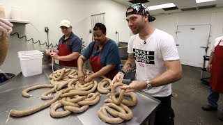 HOW CAJUN BOUDIN IS MADE | New Iberia, Louisiana