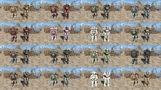 fallout 4 All Paint jobs on All Power Armor