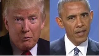 TRUMP JUS BUSTED OBAMA BIG TIME THIS WILL FINALLY BRING HIM DOWN FOR GOOD!