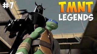 Черепашки-Ниндзя: Легенды. Прохождение CHAPTER 3 NORMAL (TMNT Legends IOS Gameplay 2016)
