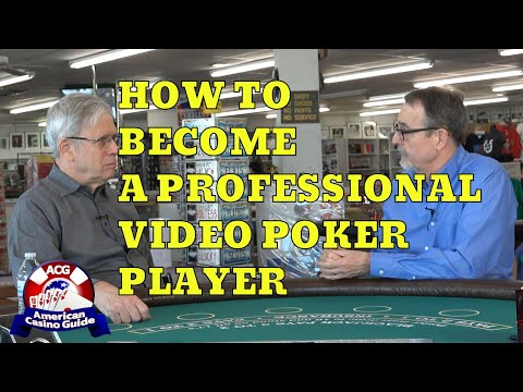 How to be a professional video poker player 888 casino live roulette