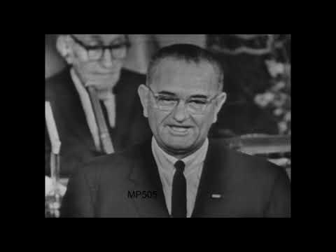 President Lyndon B. Johnson's Address to Congress, November 27, 1963. MP505