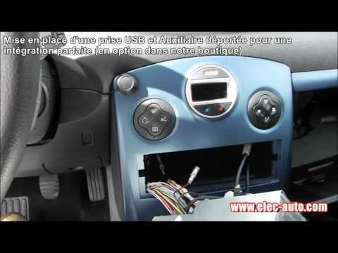 Lire des MP3 sur clé USB ou carte SD avec l'autoradio d'origine - Renault Clio autoradio Update list