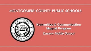 Humanities & Communication Magnet Program: Eastern MS