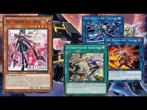 (Yu-Gi-Oh!)    Sky Striker Ace - Roze    Sky Striker Maneuver - Scissors Cross  Deck  Sky Striker