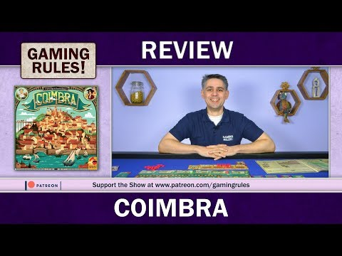 Coimbra - A Gaming Rules! review