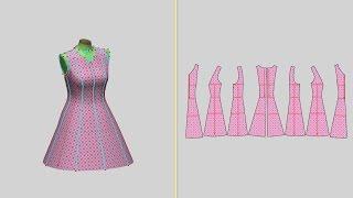 6.LookStailorX. Модуль Одежда. Создание воротников.