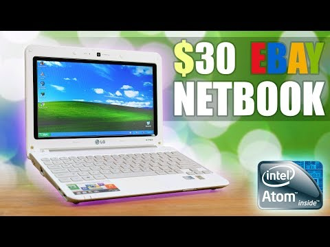 Using A $30 Netbook From eBay!