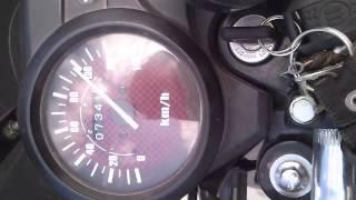 HONDA CB1 125. Top Speed .