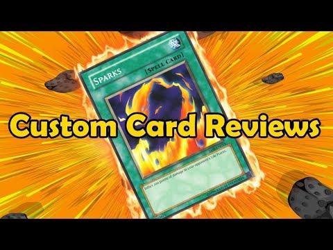 A Sparks Archetype?!! - Custom Card Reviews