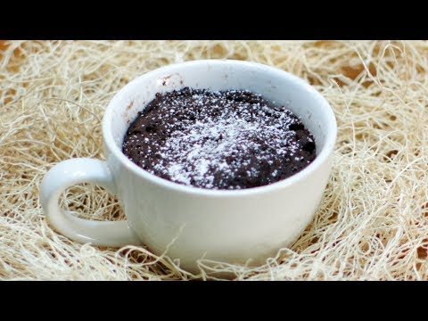 Video How to make a Mug Cake or Bowl Cake - 3 ingredients