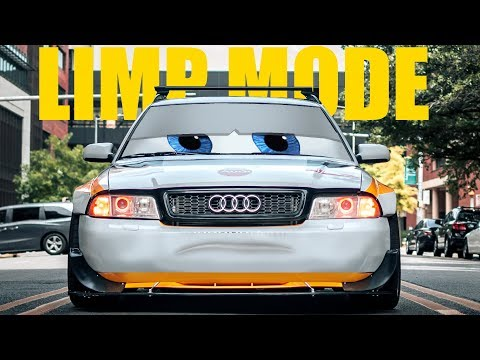 Volkswagen TDI loss of power, limp mode, CEL - смотреть