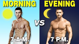 Best Time to Workout for Muscle Growth (Morning VS Evening)