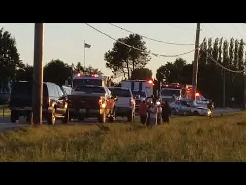 McLean Road Car Crash. Mount Vernon, WA